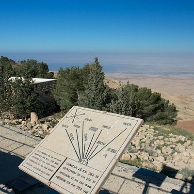 View from Mt Nebo - Dead Sea and Promised Land