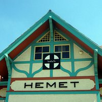 Hemet Museum is located inside historic train station