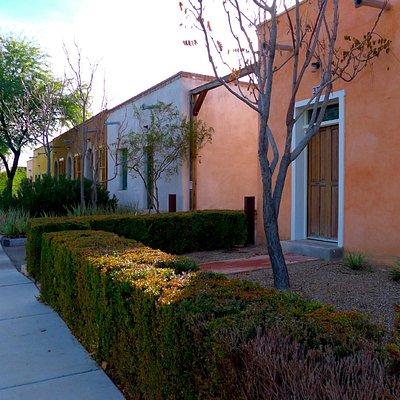 barrio version of row housing