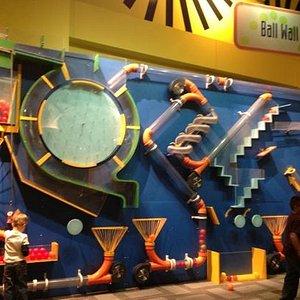 Ball Wall! 5 year old heaven