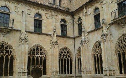 Monasterio de San Salvador de Oña - cloister