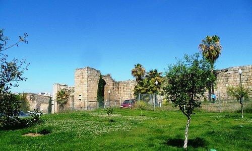 Westlicher Teil der Außenmauer
