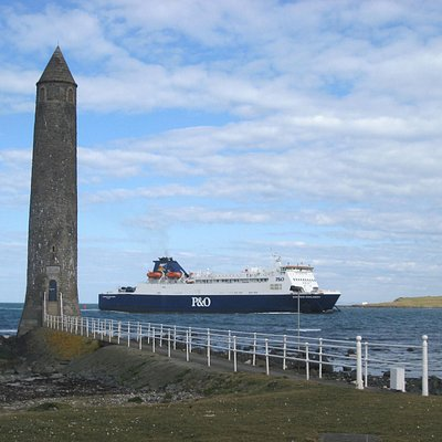 Big old ferry going by.