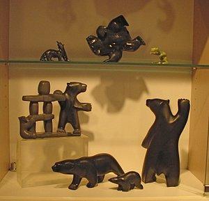 Inuit sculpture-Beautiful!