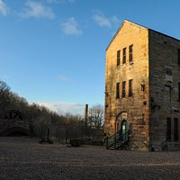Cornish Beam Engine, the only one in Scotland still in the original place where it was used