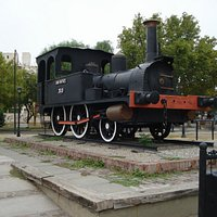 Museo Ferroviario  |  Locomotora, San Rafael, Argentina