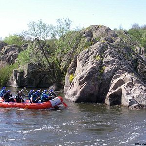 South Bug's rafting