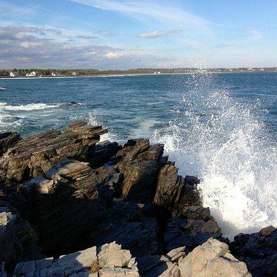 Big waves after Superstorm Sandy