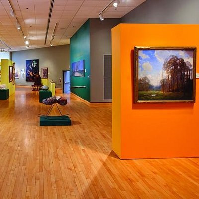 The Carmichael Gallery features selections from the permanent collection.