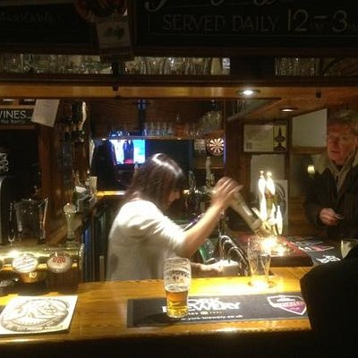 Real Ale being pulled
