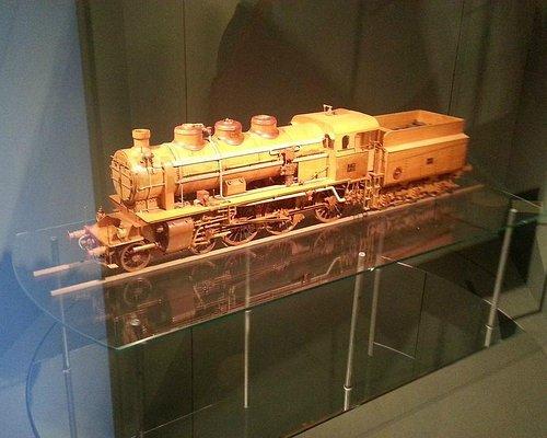 Detailed wooden model