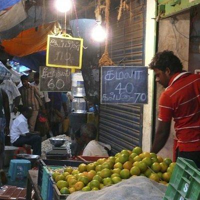 Goubert Market