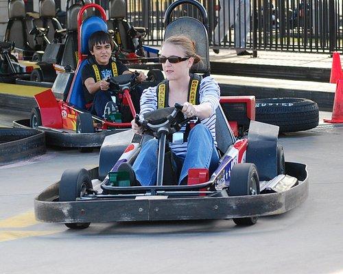 Go Kart Racing at Zone Action Park Dallas, Texas