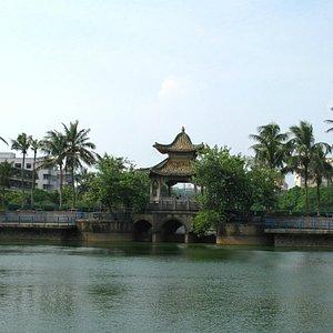 One of many historical bridges