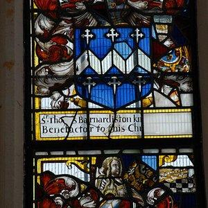 Arms of Sir Thomas Barnardiston of Clare Priory
