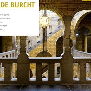 De Burcht, detalj fra trappehuset