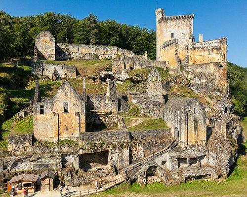 Vue d'ensemble du Castrum de Commarque