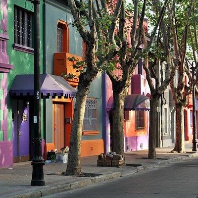 Street scene Santiago