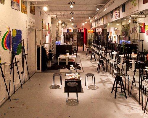 lounge and studio