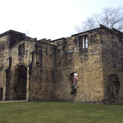 Gatehouse at Monk Bretton Priory