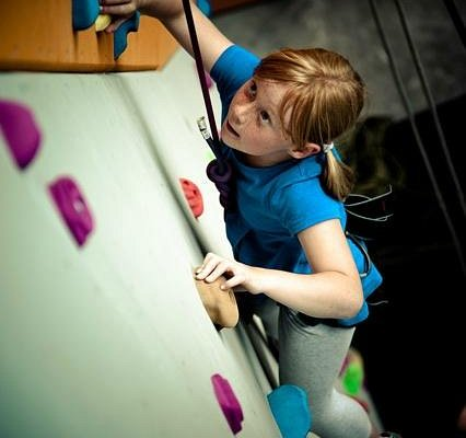 Great climbing for youngsters