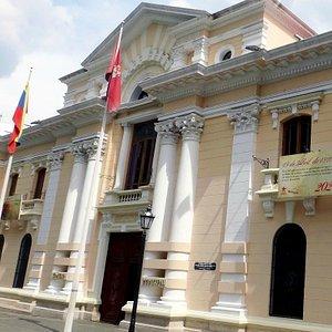 Fachada del concejo municipal