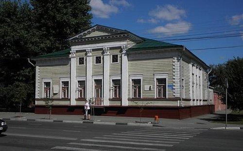 дом музей чечерина.