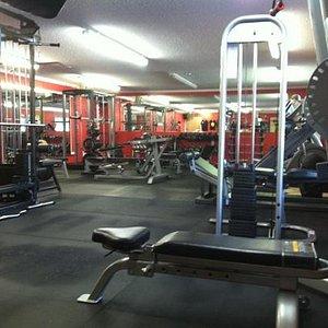 fitness weight room