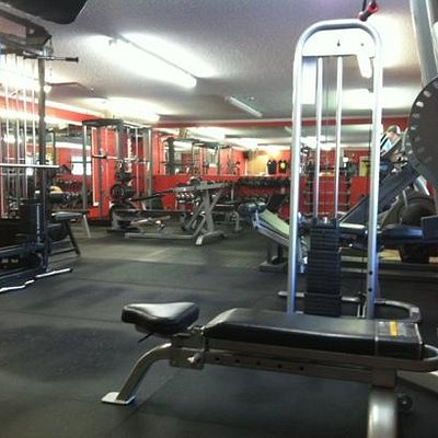 fitness weight room