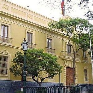 Frontal del Palacio de la Gobernación