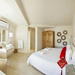 Self-Catering Suite Bedroom
