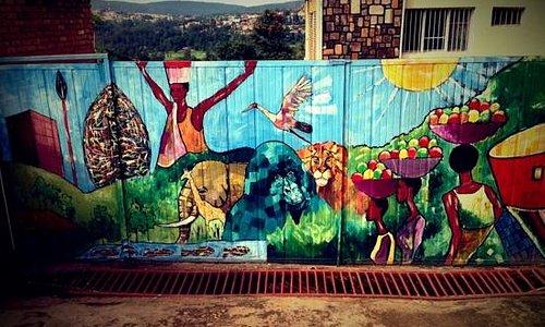 Entrance Gate, Inema Art Center, Kacyiru, Kigali
