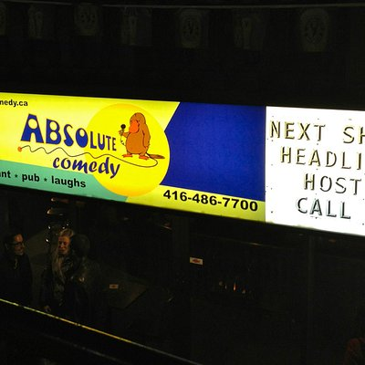 Entrance to Absolute Comedy