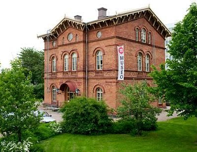 Vantaa City Museum is housed in the Old Station Building in Tikkurila