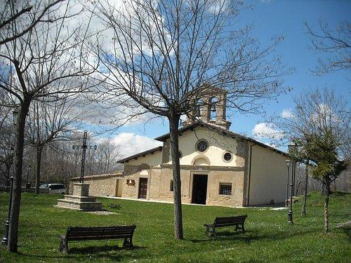 Santuario dell'Icona Passatora, nel comune di Amatrice, ai piedi dei Monti della Laga