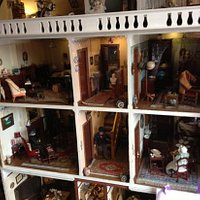 Dolls house display