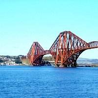 Forth Bridge on a lovely sunny day