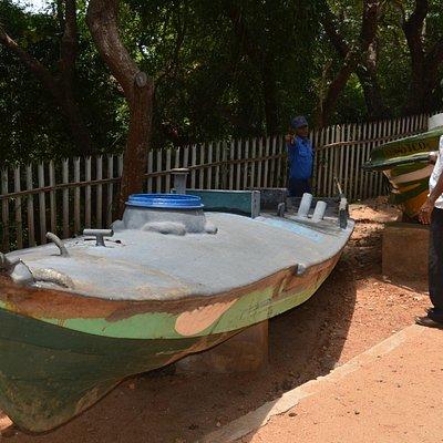 LTTE suicide boat