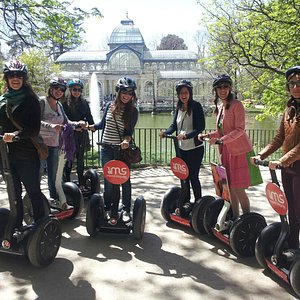 Madrid Segway & Hen Parties. What a idea!