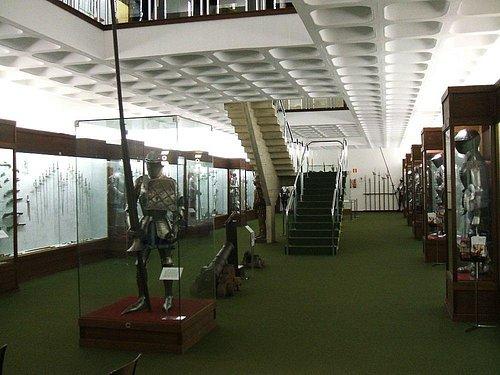 Interior Weapon Museum Vitoria-Gasteiz
