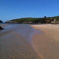 playa de poo y ria
