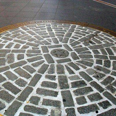 Boston Massacre Site marker