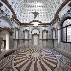 Museo di Palazzo Grimani - Tribuna (con Ratto di Ganimede)