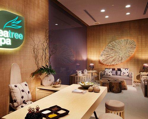 Tea Tree Spa Reception Area
