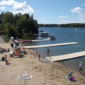 Le club nautique, Lac Beauport