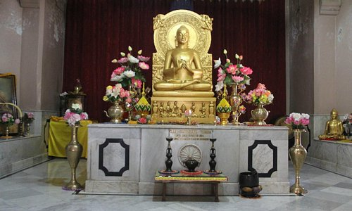 The centerpiece in the Temple.