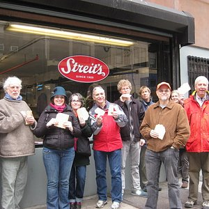 Fresh matzo at Streit's Matzo Factory - Lower East Side