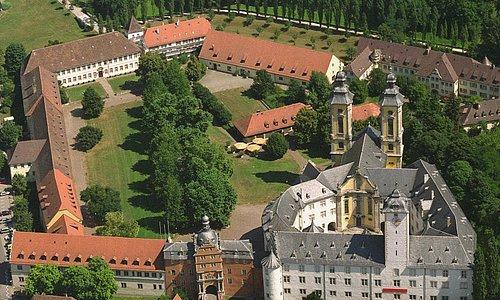 Luftbild des Deutschordensmuseums im Schloss (Foto: Luftbild Bytomski, Würzburg)