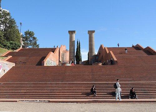 Escaleras del Parque España