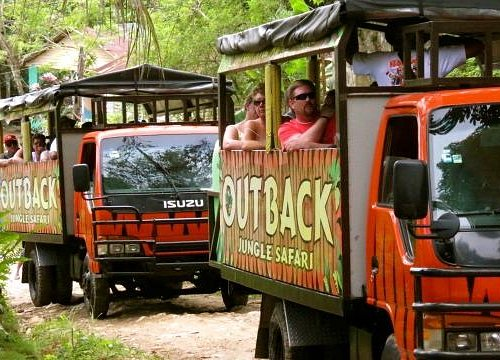 Touring the beautiful countryside of the Dominican Republic